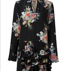 Nº21 sheer top floral dress